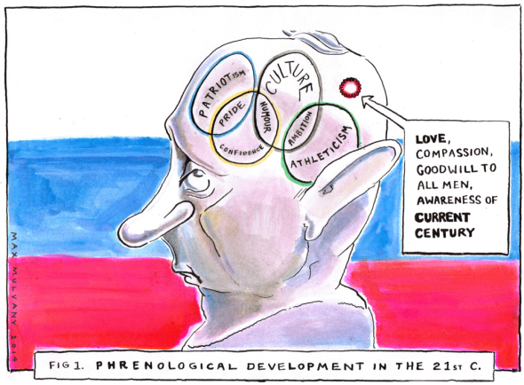 Putin-Phrenology